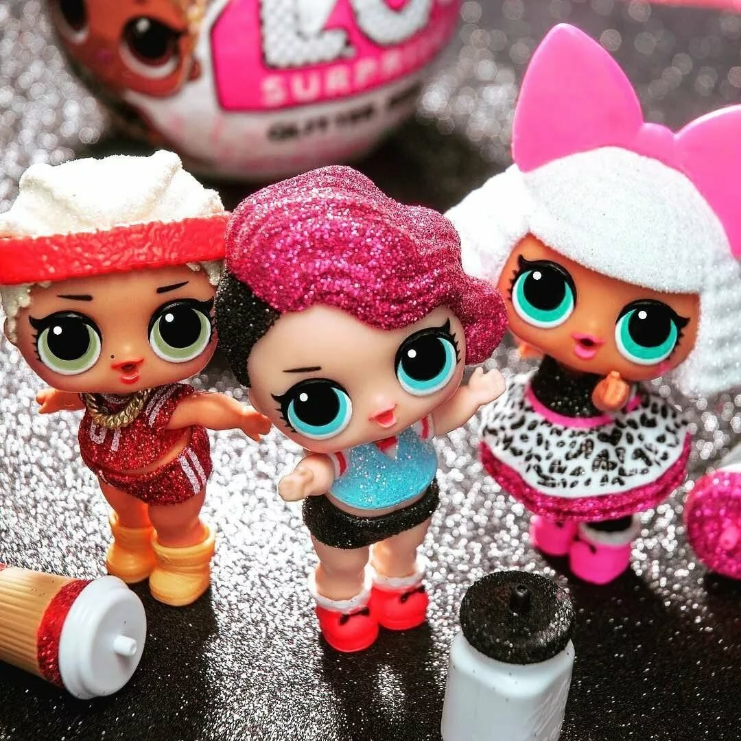 Картинки с блестящими куклами лол