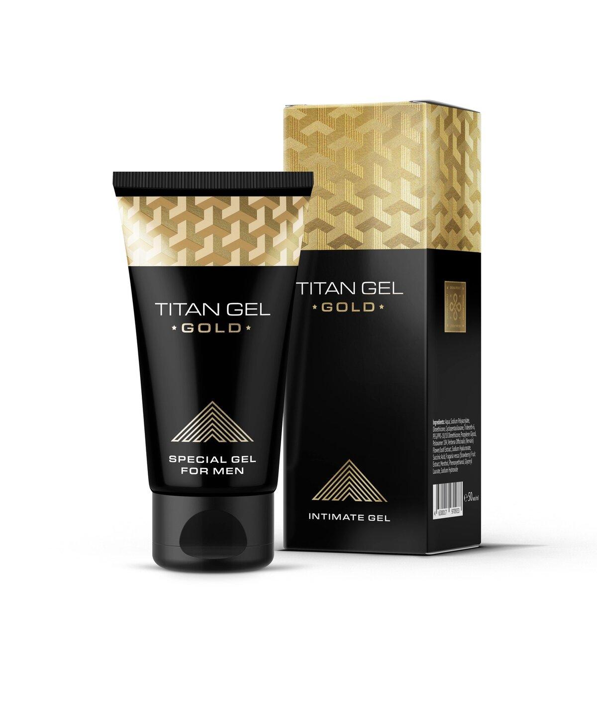 Titan Gel Gold - мужской крем в Городце