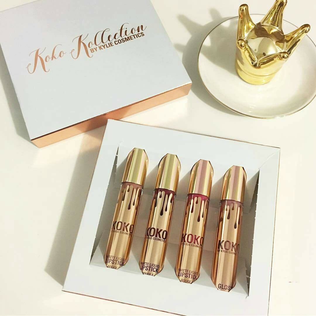 Набор помад Kylie Cosmetics Koko Kollection в Тюмени