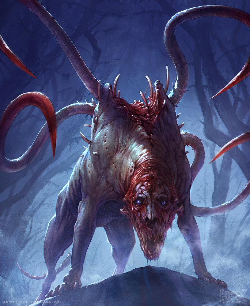 картинки монстров и чудовищ
