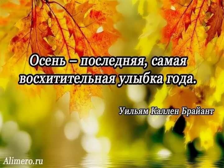 цитаты про осень в картинках для миссию художник