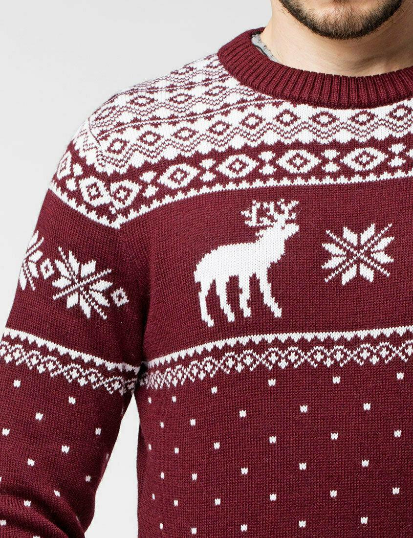 пускай картинки на свитер с оленемер шоколадно-клубничная гамма