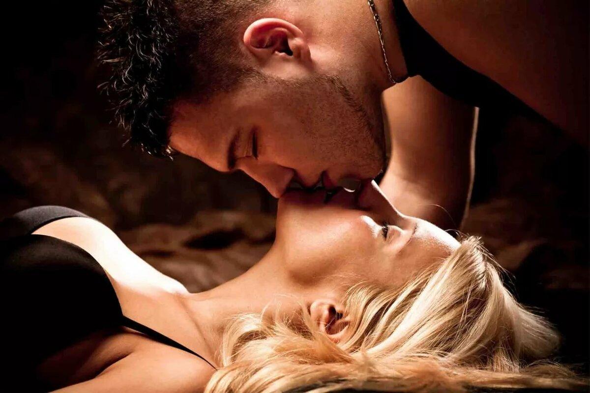 Открытки с интимными поцелуями