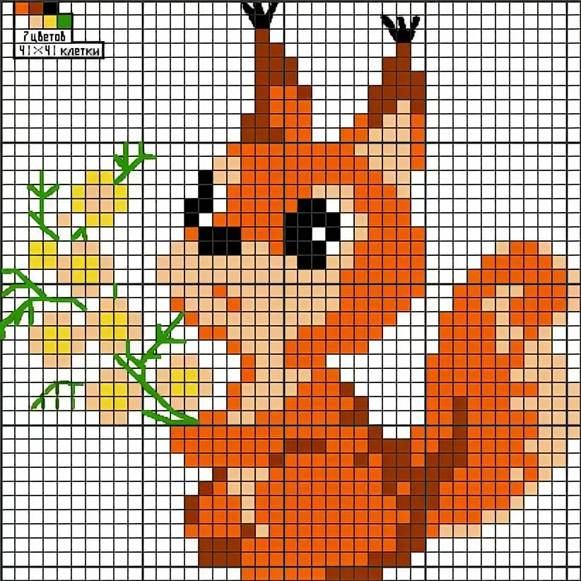 Схемы для вышивки крестом картинки животных