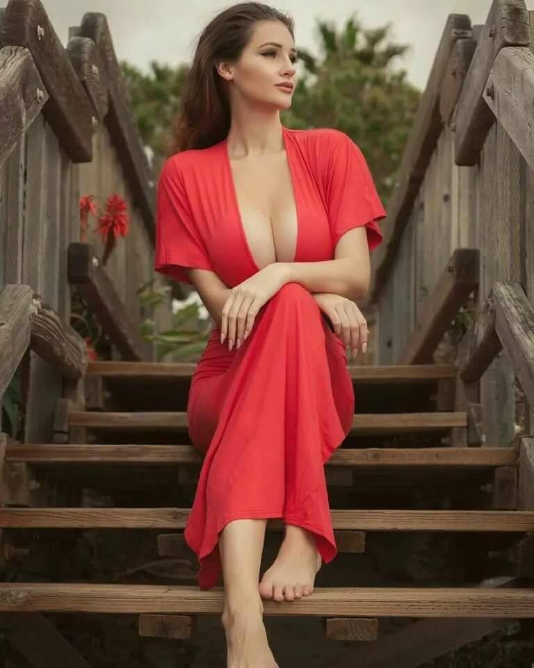 Alina Lewis In Women Lady Red Jizz 1