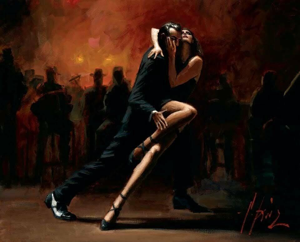 Картинки танцующие девушка и парень