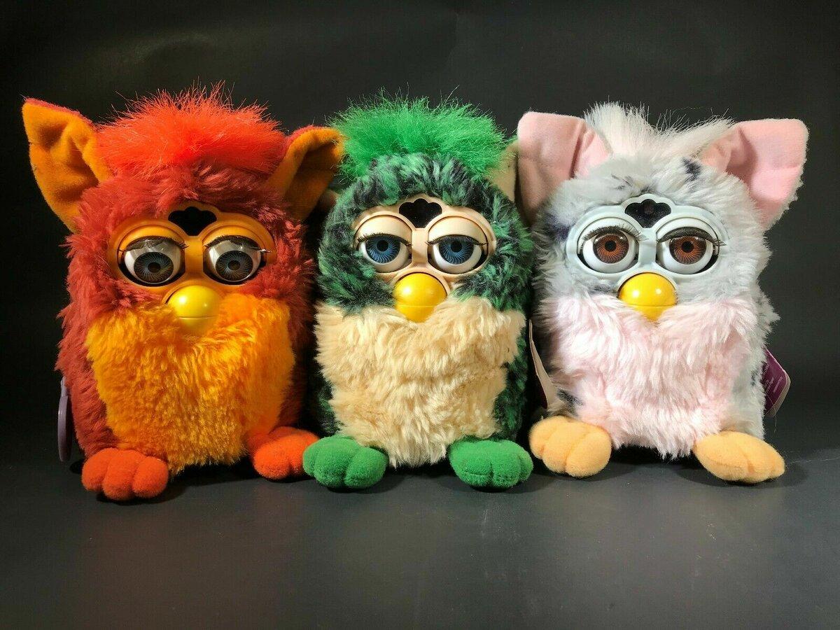 Интерактивная развивающая игрушка Furby в СергиевомПосаде