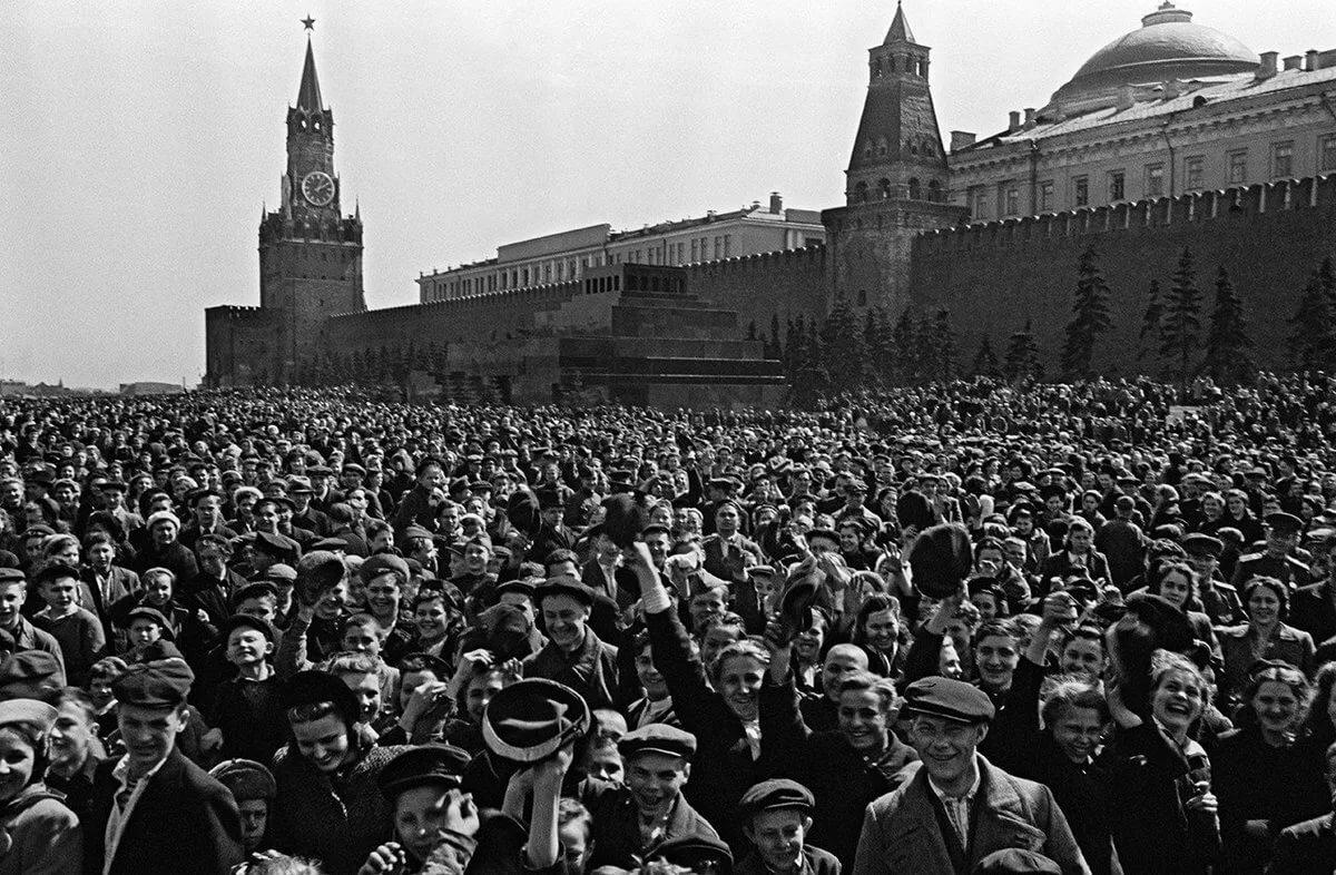 Фото день победы 1945 года