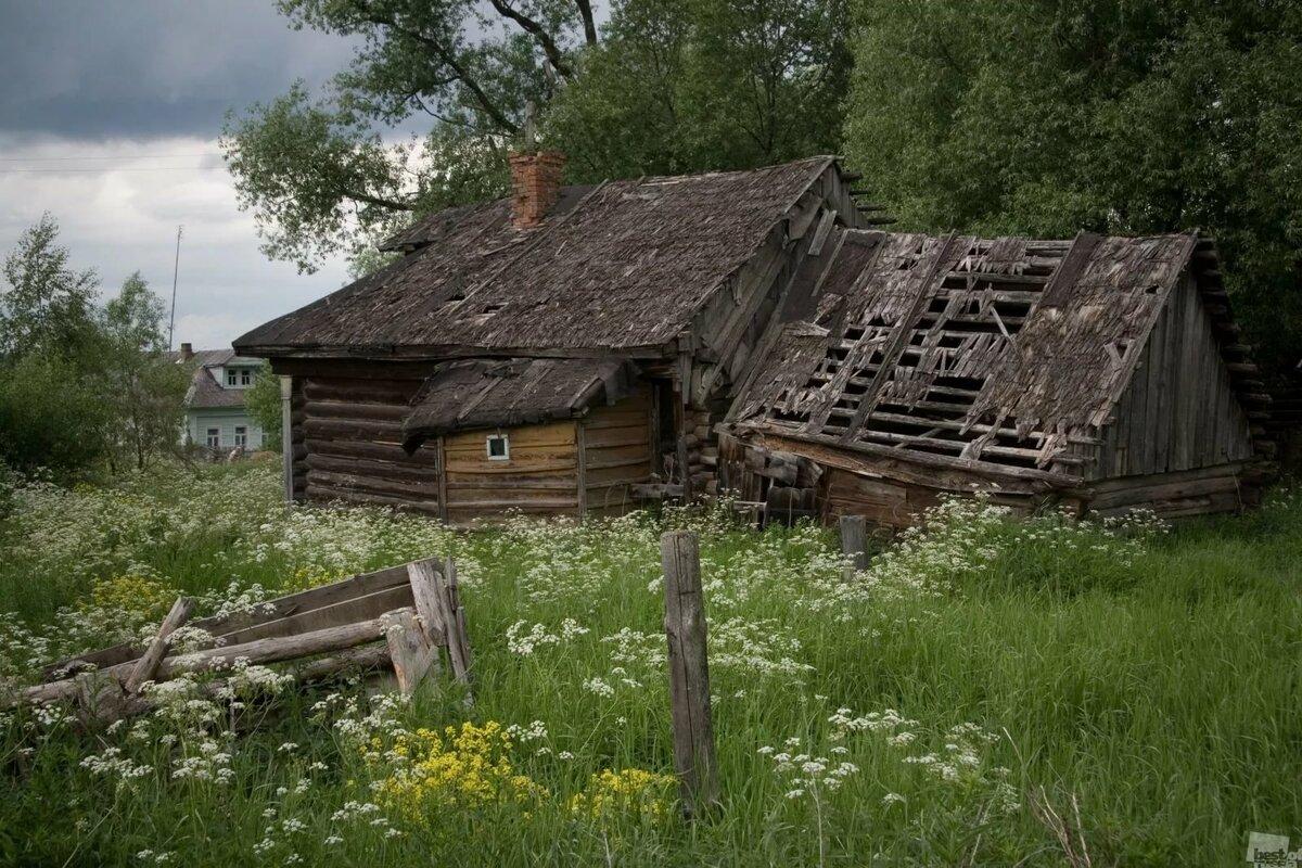 сожалению, секрет фото разрушенных домов в деревне той