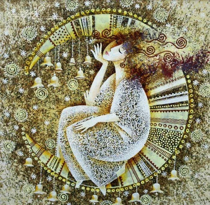 Ангел стилизованные картинки