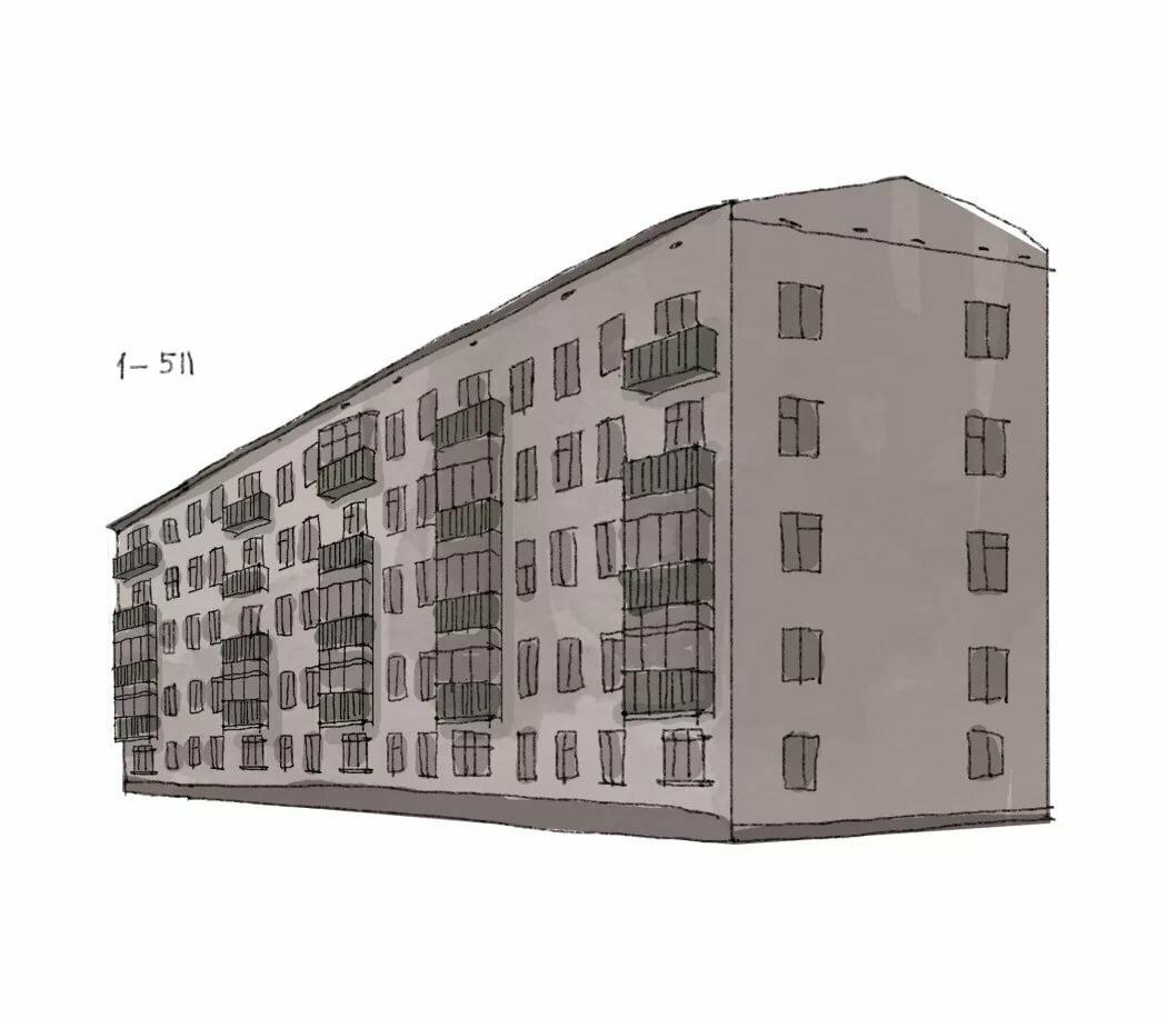Пятиэтажного дома в картинках для детей