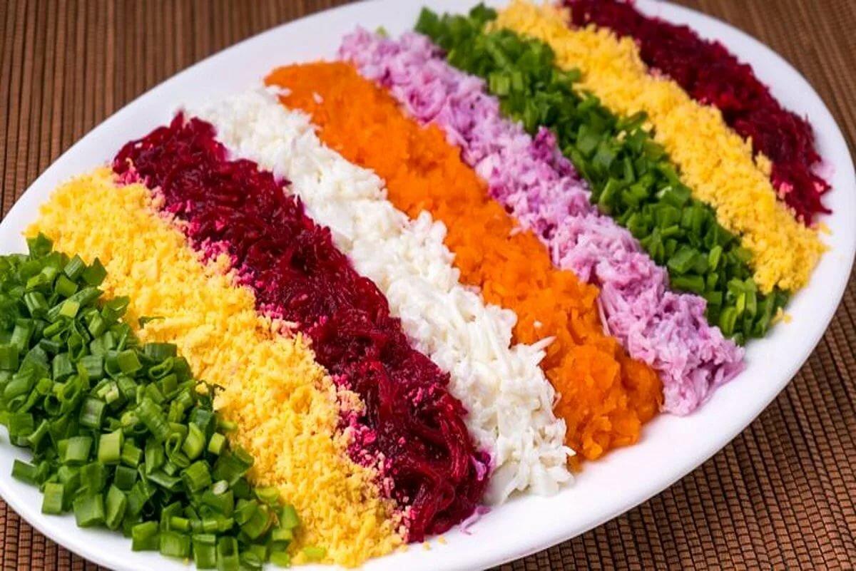 салат дорожка рецепт с фото пошагово кожаный