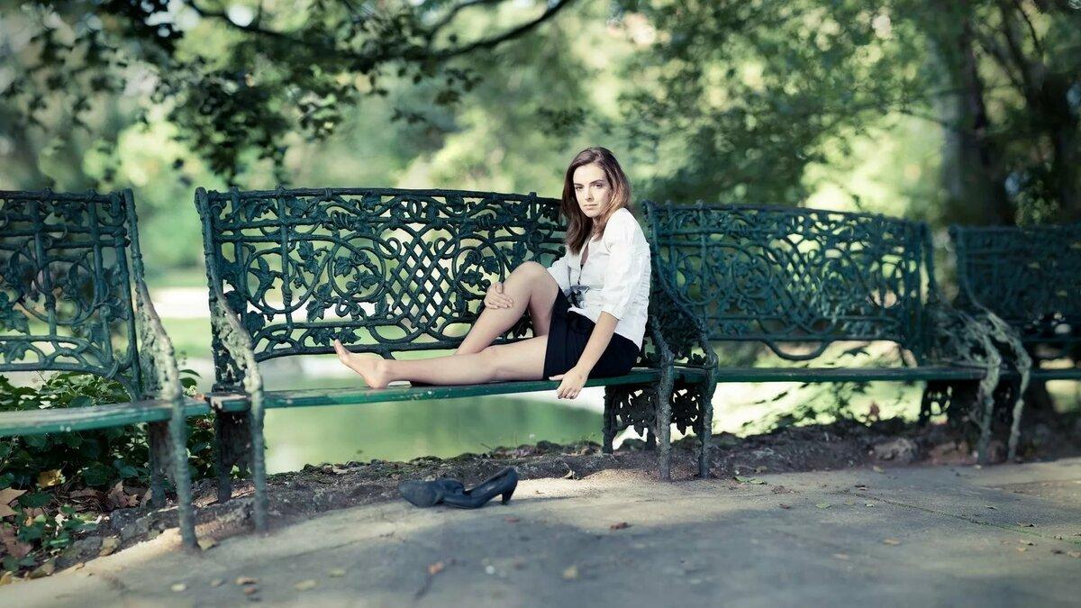 В парке летом картинки красивые