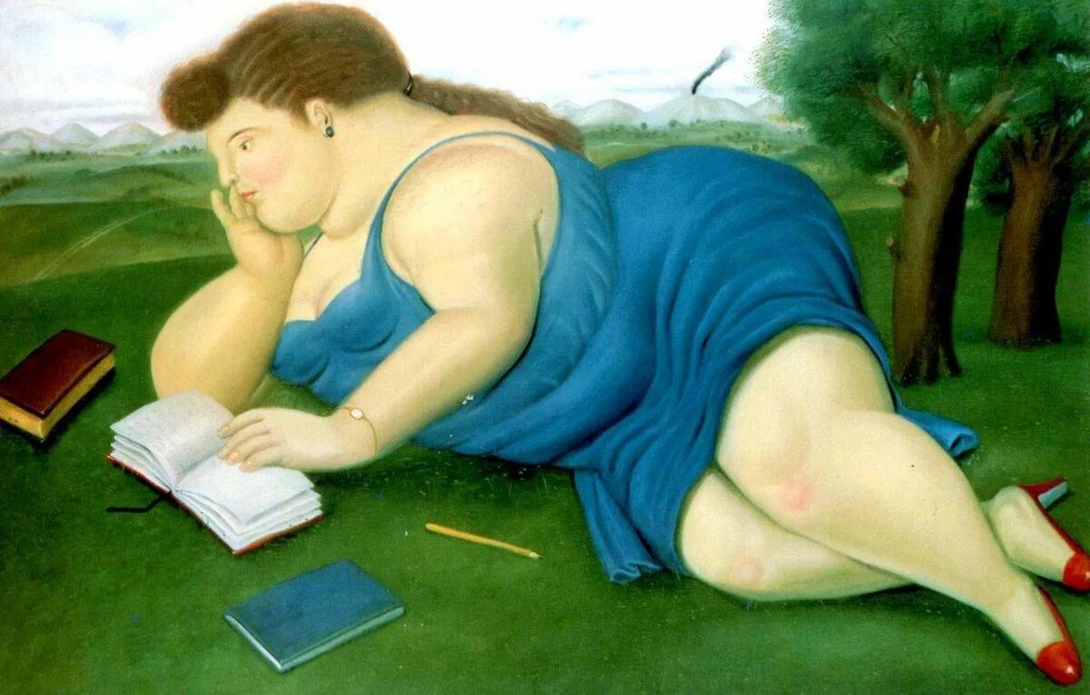 Толстые люди на картинах художников понимаем, уважаем