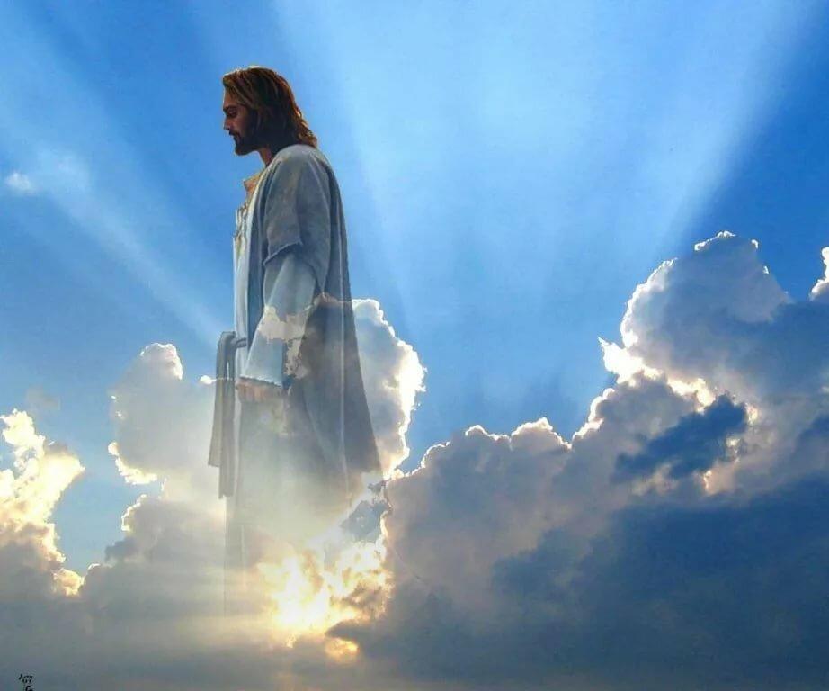 фото бога где он открывает небо надежные