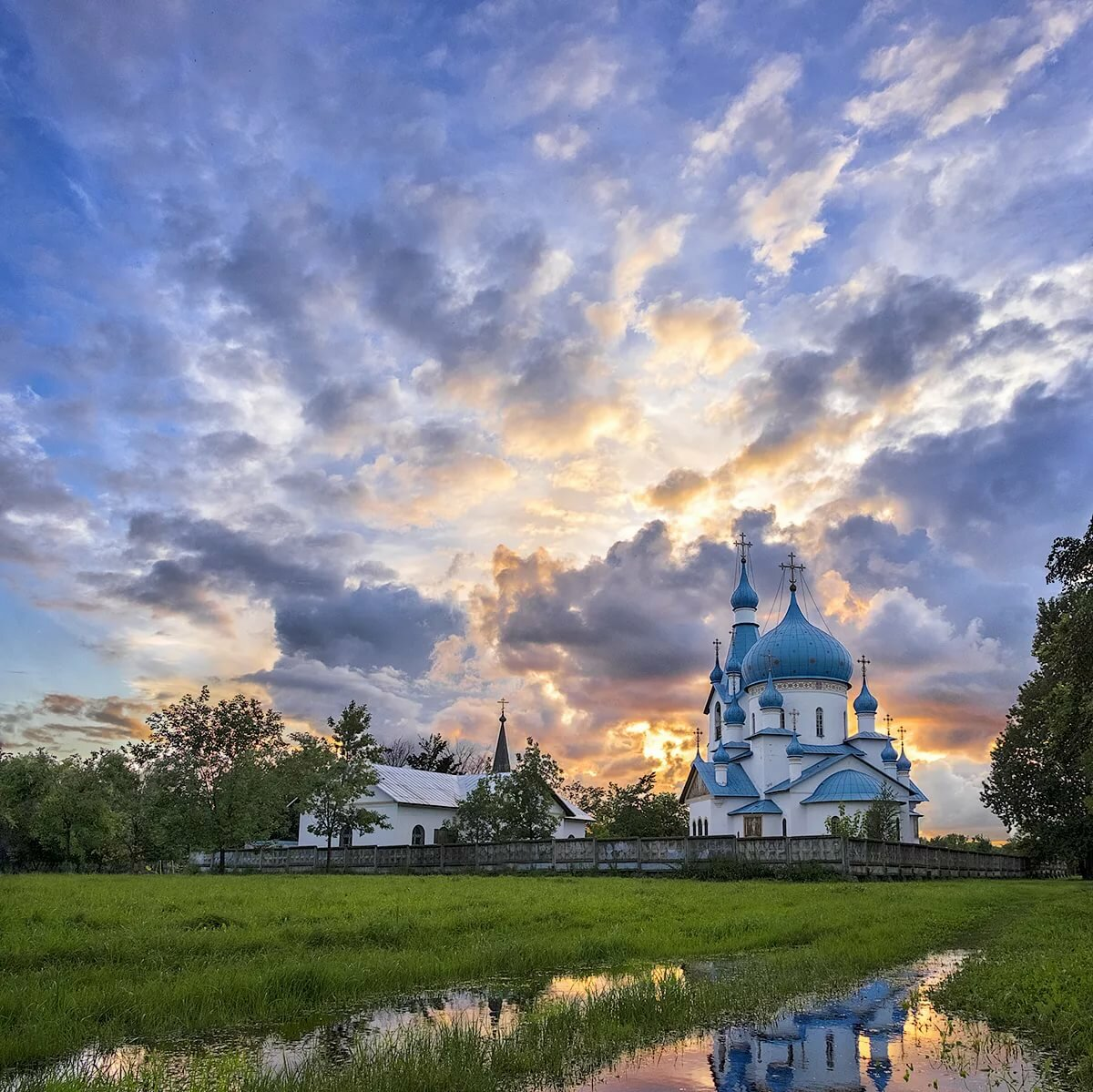 Небо церковь картинки