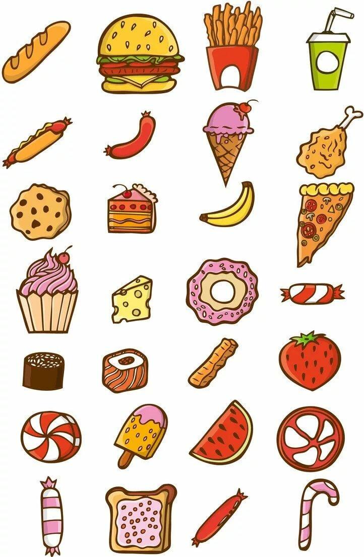 Распечатки для лд картинки еды