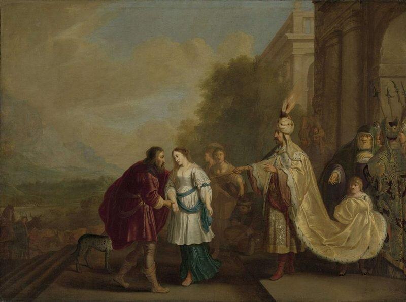 Фараон возвращает Сару Аврааму