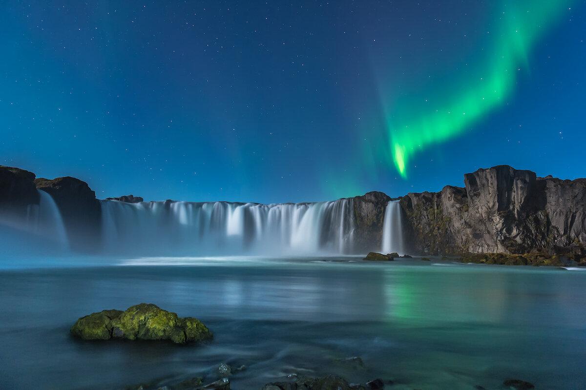 водопад годафосс исландия живые обои бактерий коллоидная система