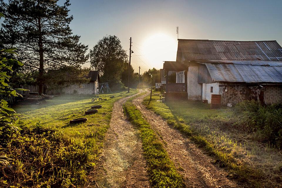 картинки про русскую деревню