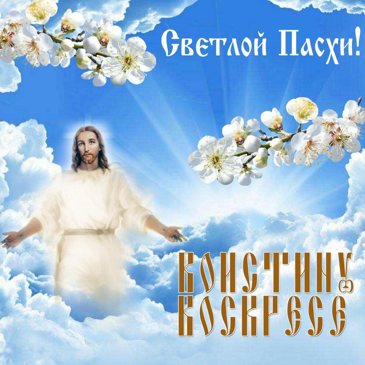 Открытки с христос воскресенье, поздравления