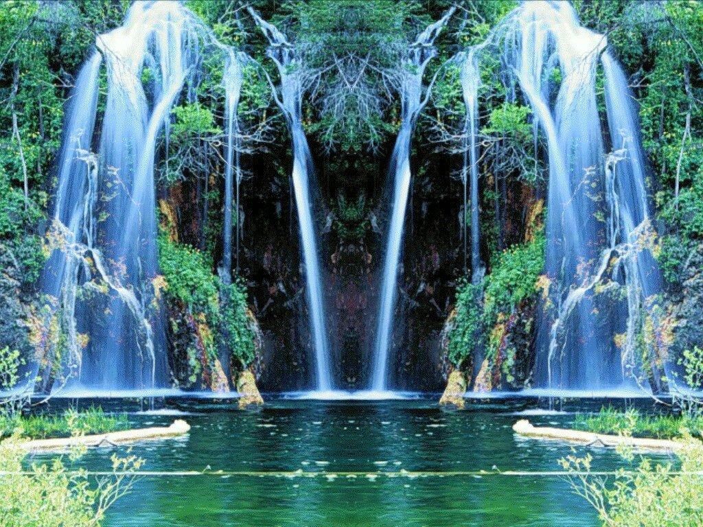 Движущиеся картинки про природу