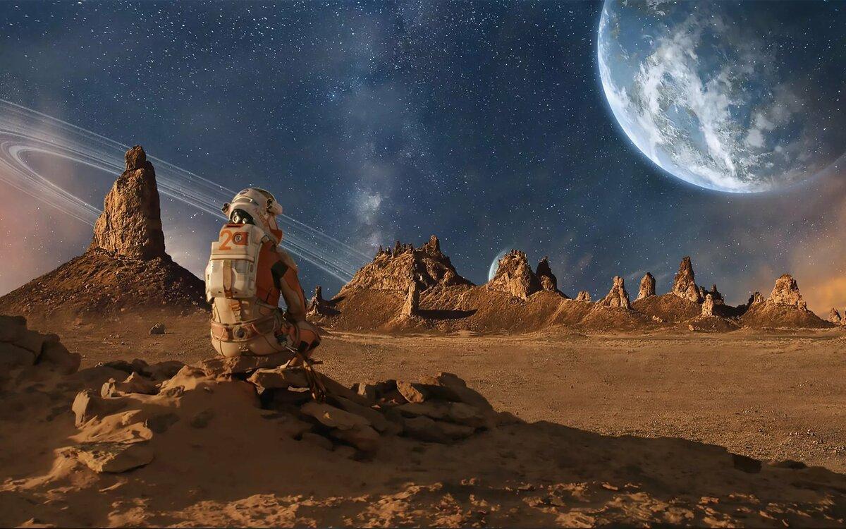 фотографии фантастических планет гравийный сад своими