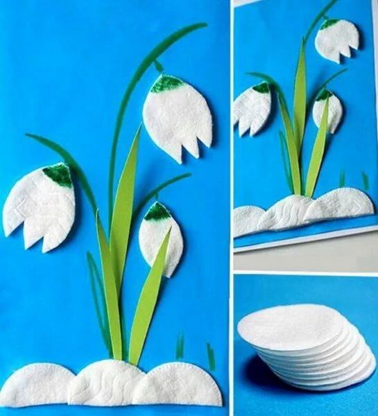 Поделки в картинках весна