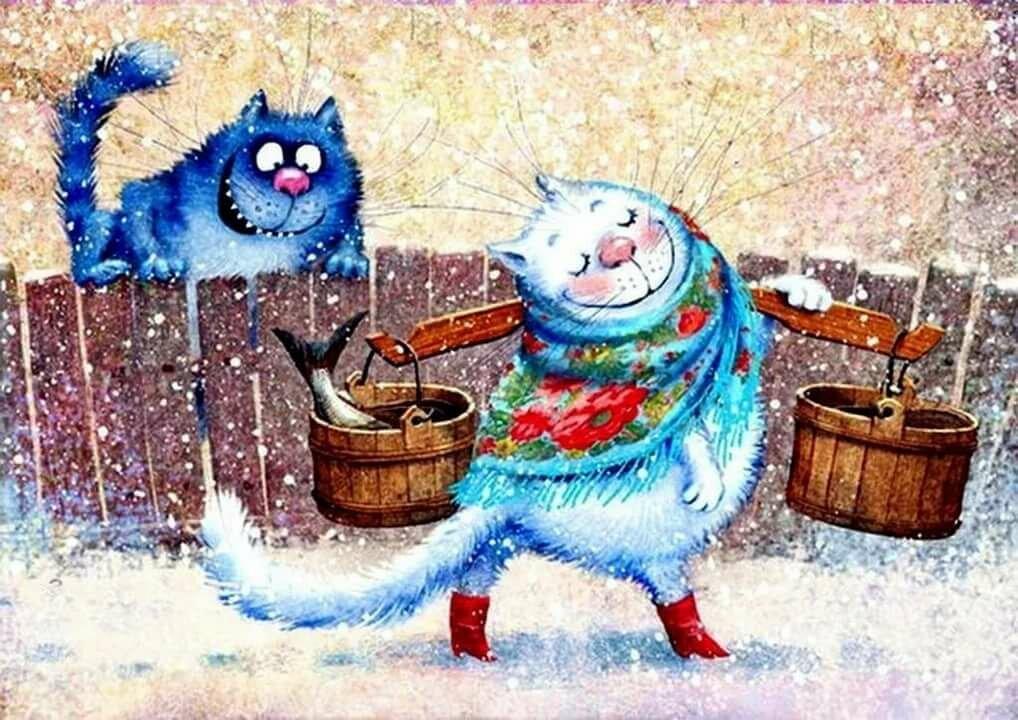 тут видел, картинка синий кот на магнит можете