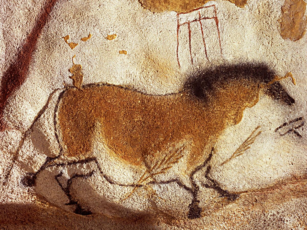 Пещера Ласко. Китайская лошадь