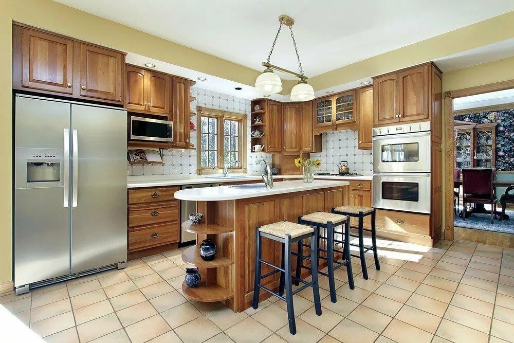 Кухни фото крупном — pic 10