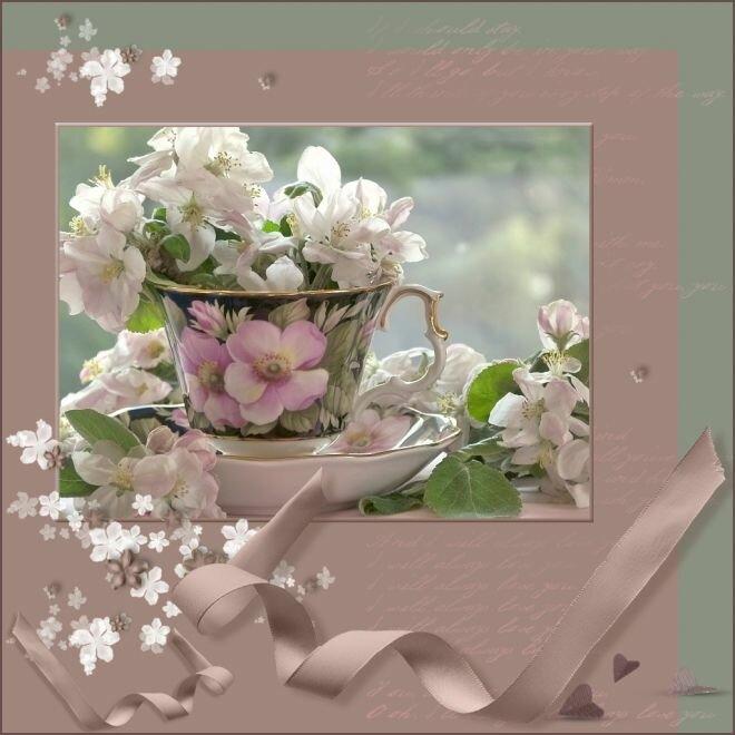 Самые красивые и большие открытки доброго весеннего утра, скрапбукинг новый
