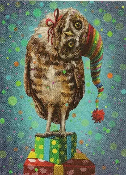 Открытка на день рождения сова, лучшему стоматологу открытки
