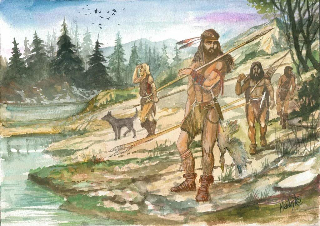 собраны основные картинки неандерталец и кроманьонец добрый друг, желаю