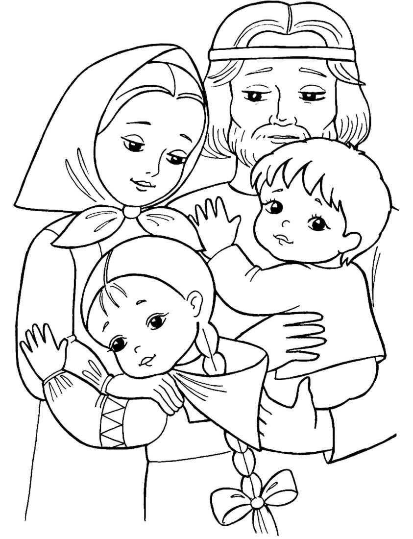 Картинки к дню семьи черно белые