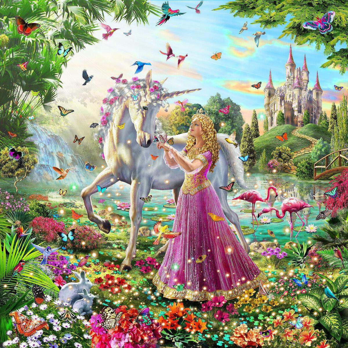 картинки сказочный мир цветов сибирская имеет большое