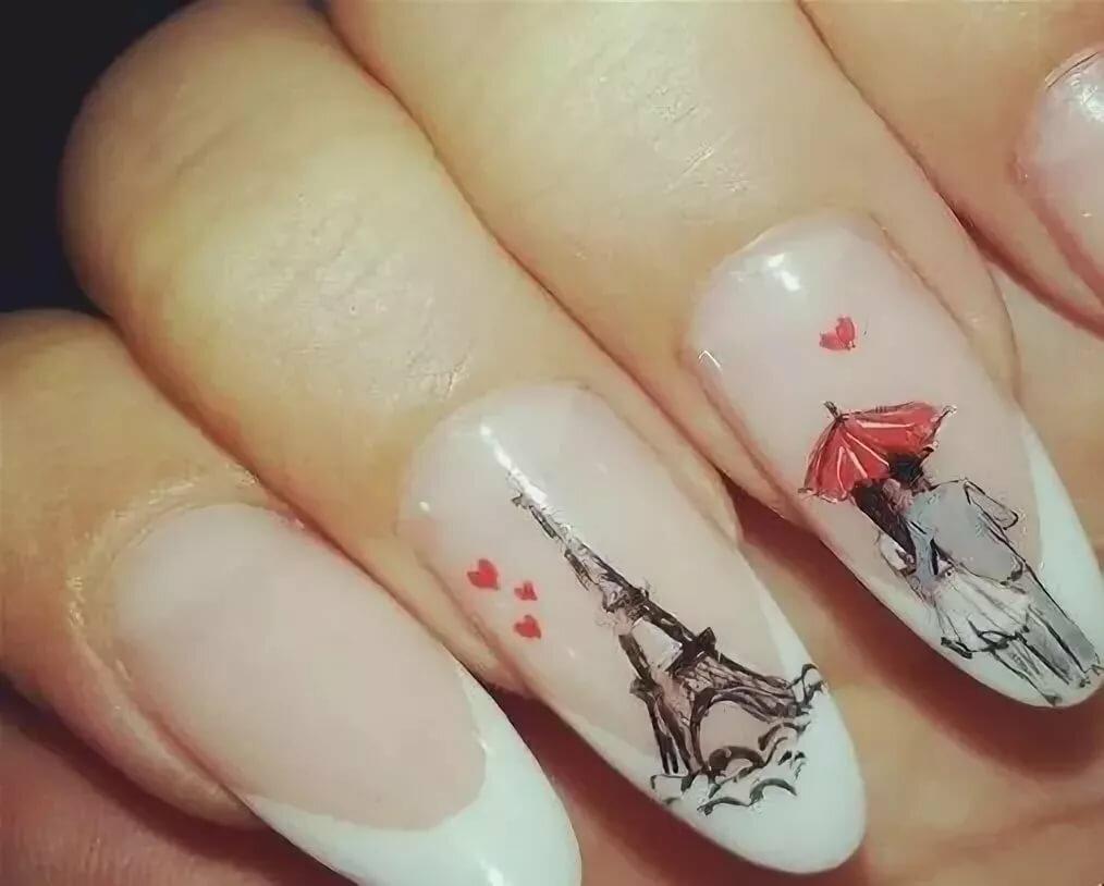 дизайн ногтей картинки парижа отдыха лагуна подарит