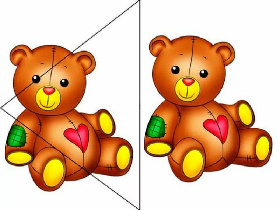 Разрезные картинки для детей 3-4 лет, марта котята