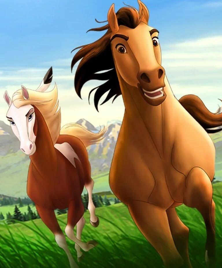 Картинки лошадок из мультфильма