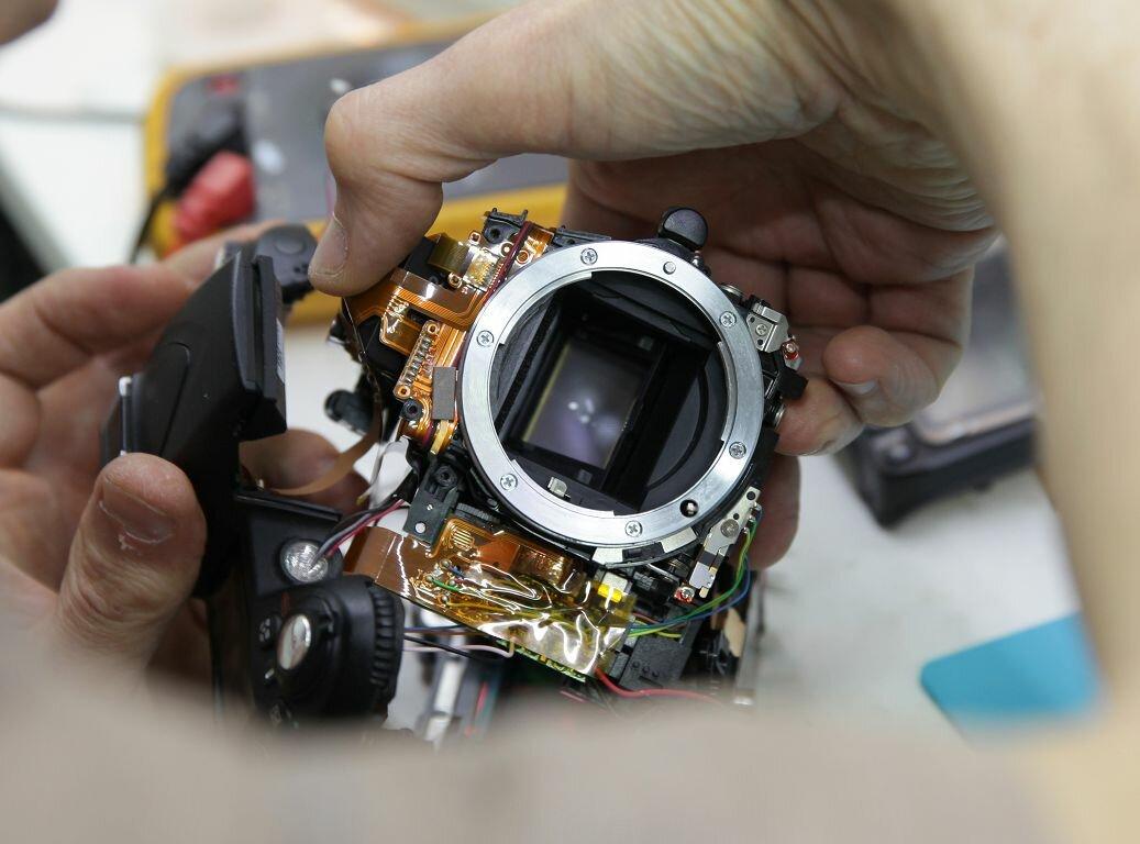 что круглосуточный ремонт фотоаппаратов она