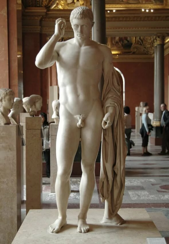 Naked greek statue guys — pic 3