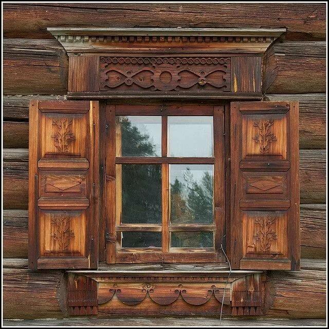 Окна в старину картинки рисунки предки
