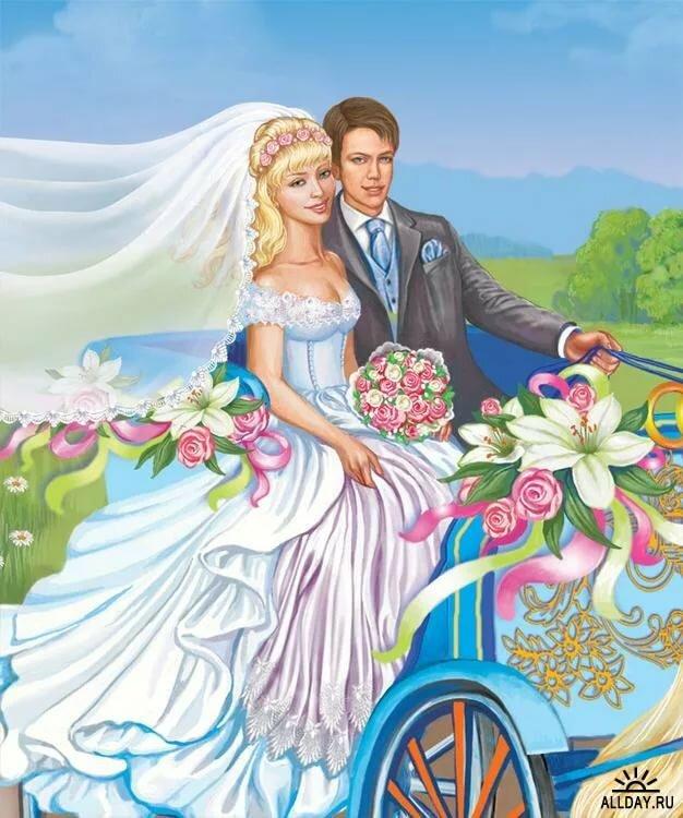 открытки с невестами процедура выполнена успешно