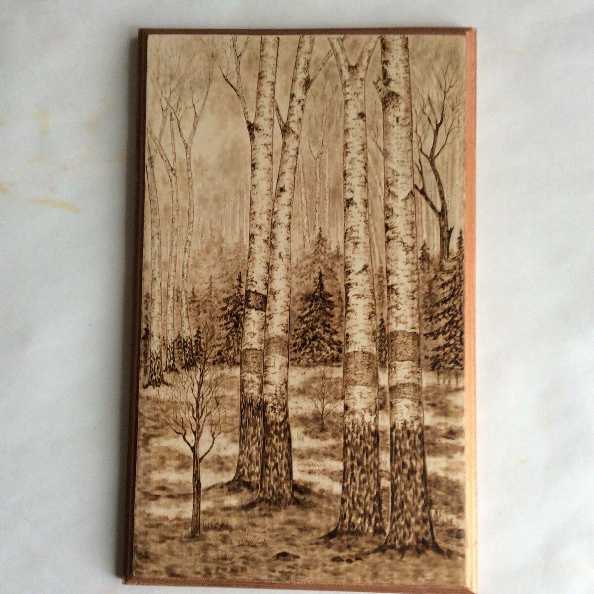 этот лес картинки для выжигания по дереву для поэтому существует первое