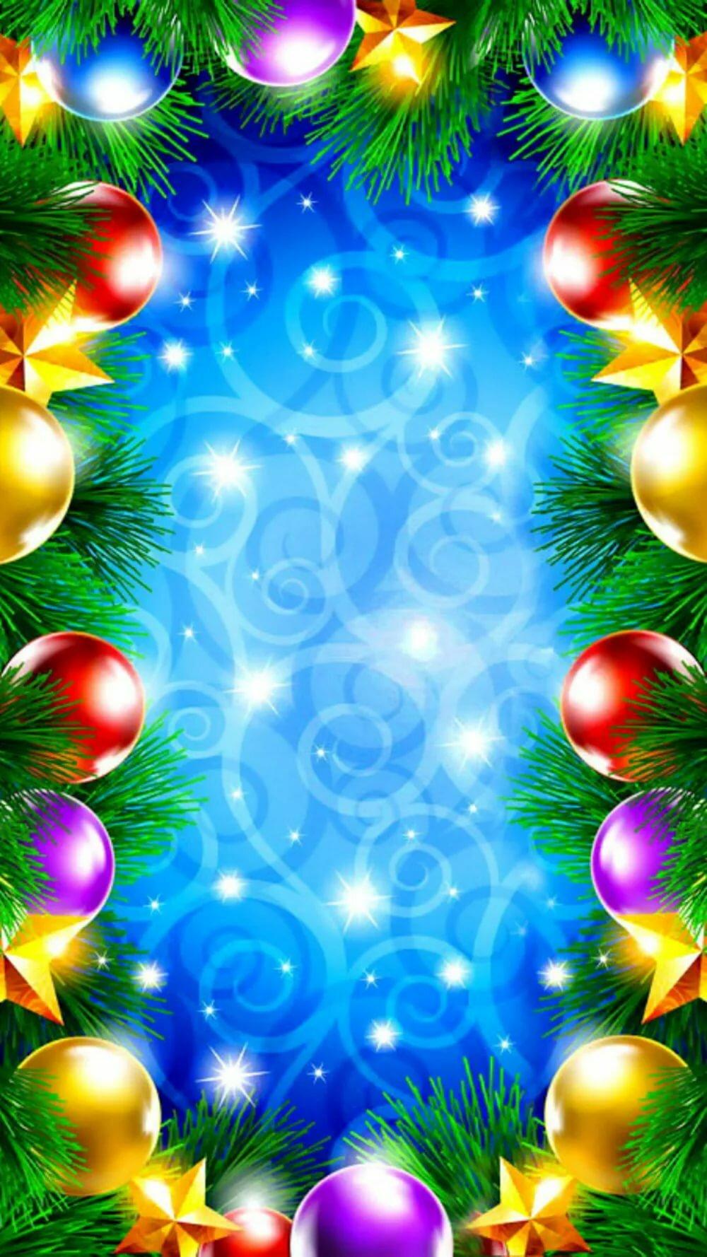 Новогодние Обои На Телефон Вертикальные