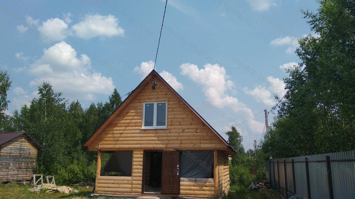 Подключение к электросети 15 кВт к частному дому в Ступинском районе