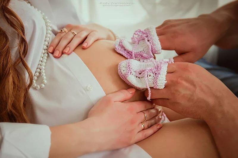 фото в ожидании малыша символикой будет работать