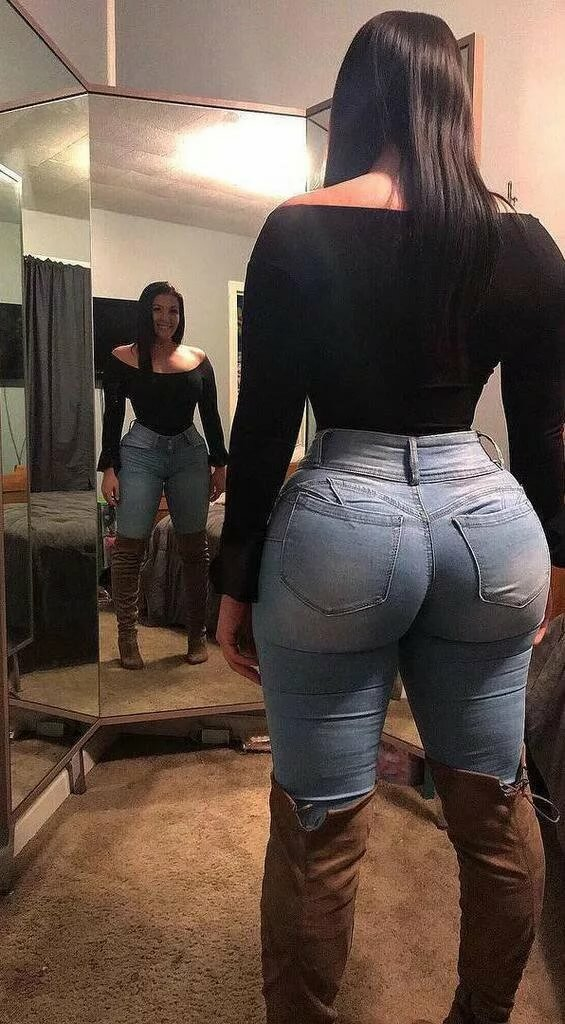 Jeans phat ass