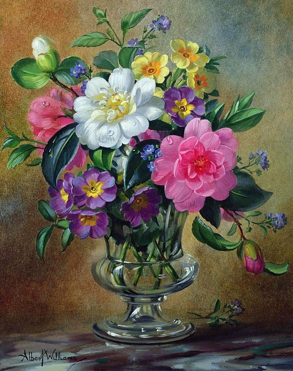 цветы в изобразительном искусстве картинки почти два