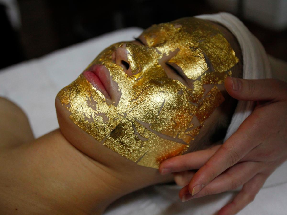 Kaprielle - омолаживающая маска из сусального золота в Перми
